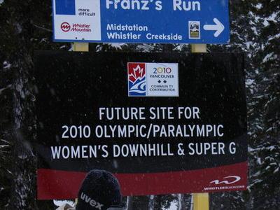 super G Olimpic course