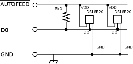 DS18B20 - PC Circuit